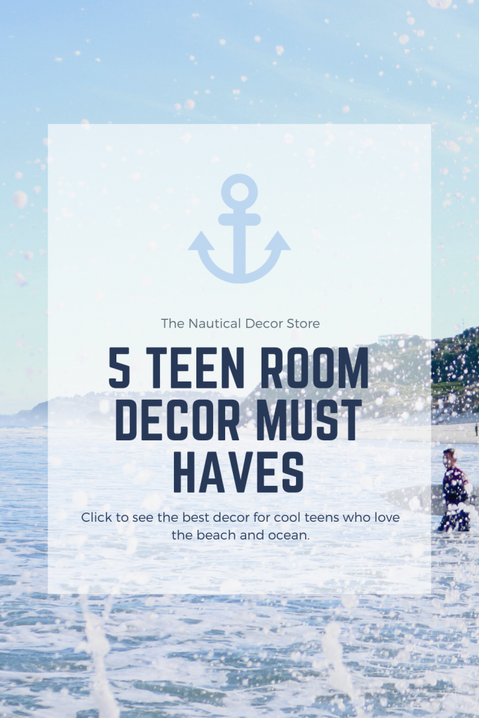 Teen Room Decor For Kids Who Love The Beach & Ocean!