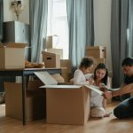 moving house family