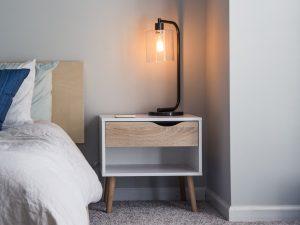 Coastal Nightstands & Bedside Tables