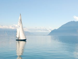 Sailboat Accent Decor