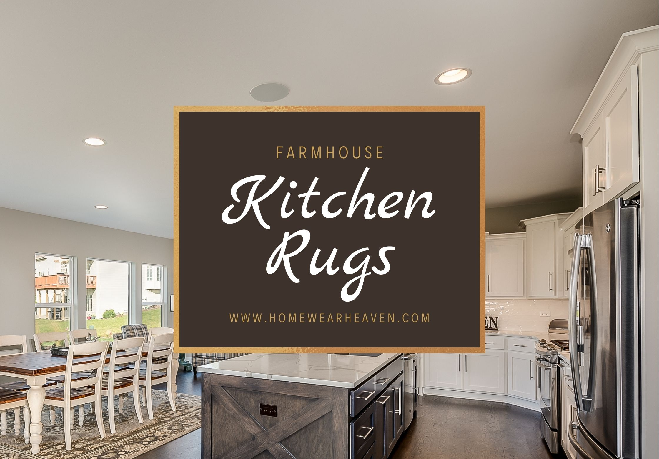Top 10 Best Farmhouse Kitchen Rugs And Mats in 2021